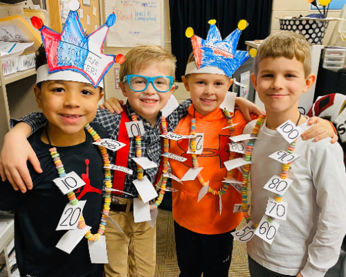 IS Celebrates 100th Day of School!