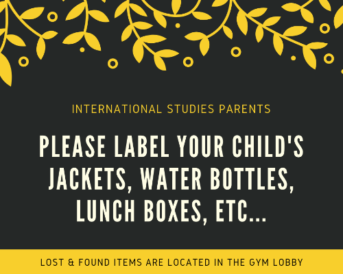 Label Your Child's Personal Items