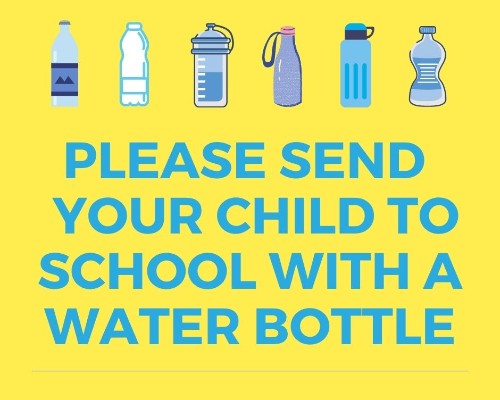 Please Send a Water Bottle With Your Child