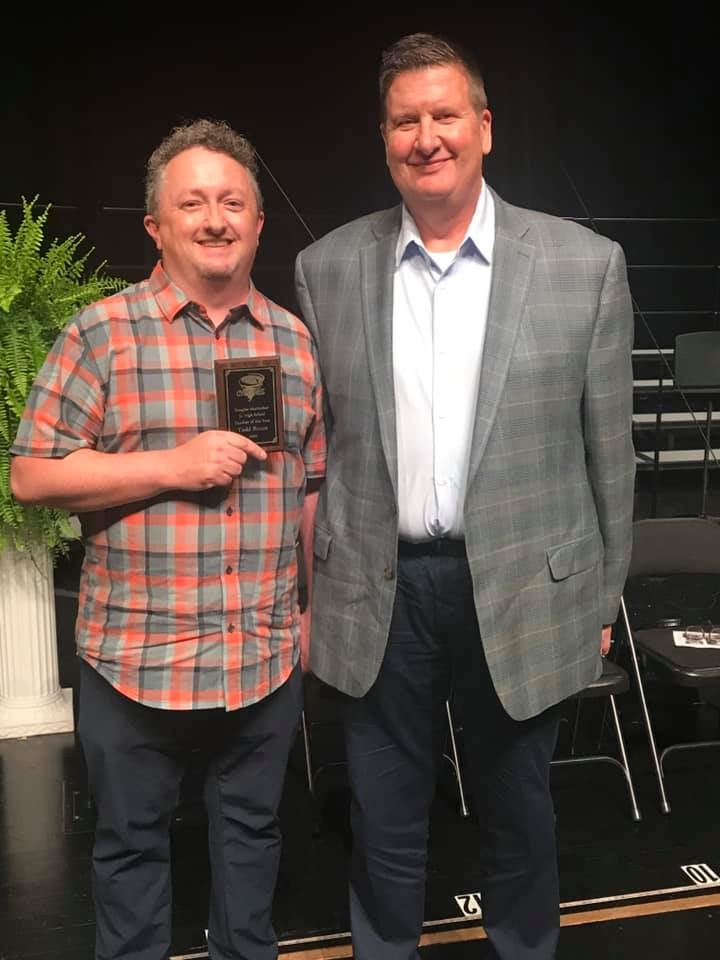 Mr Todd Rouse Teacher of the Year 2019