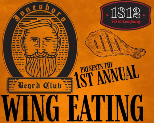 Wing Eating Fundraiser