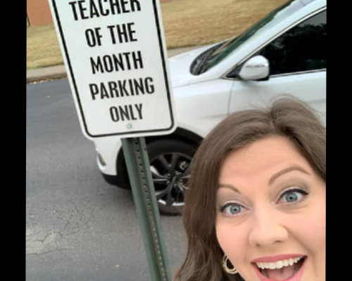 Teacher of the Month: Ms. Hendrix
