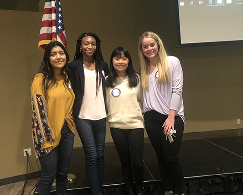 Interact visits Rotary