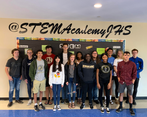 STEM Academy ambassadors for 2019-2020.