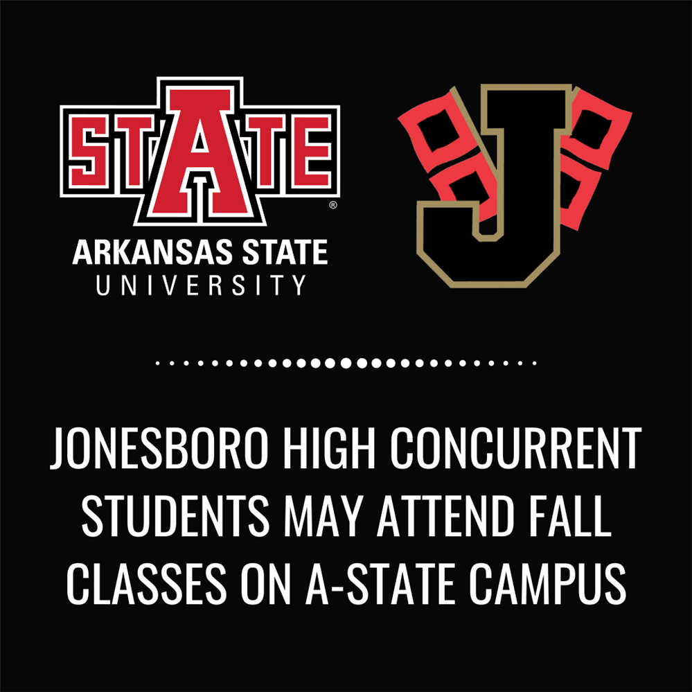 JHS concurrent students will be able to attend classes at ASU, fall of 2021