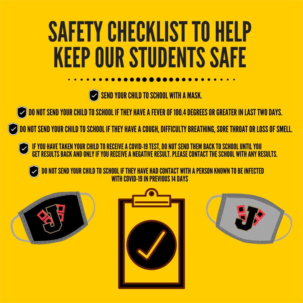 Safety Checklist to Help Keep Our Students Safe